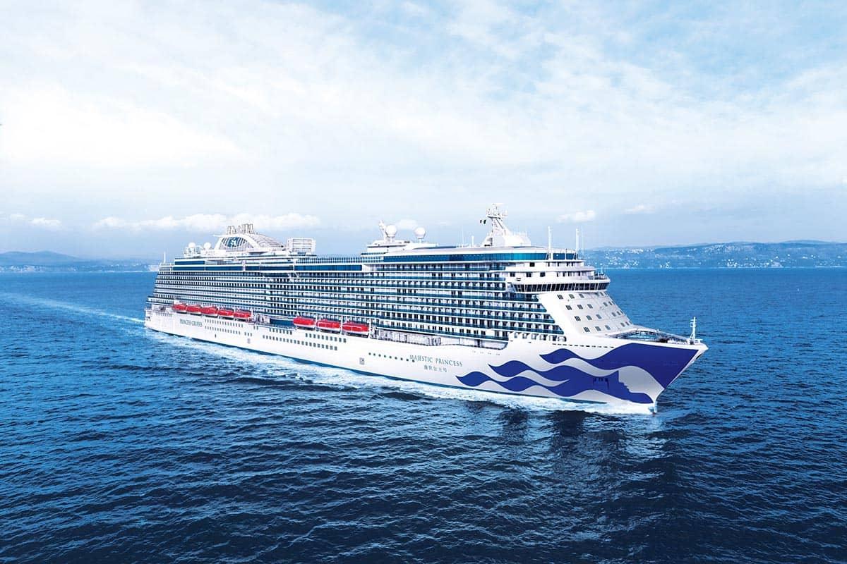 盛世公主号已于7月11日正式开启以上海为母港的中国航季